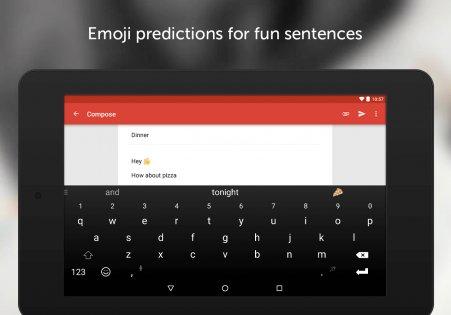 Клавиатура SwiftKey 7.0.1.21. Скриншот 6