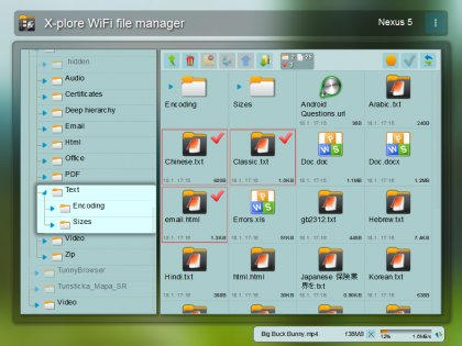 X-plore File Manager 3.97.06. Скриншот 2