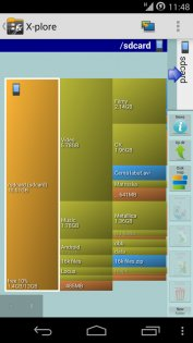 X-plore File Manager 3.97.06. Скриншот 4
