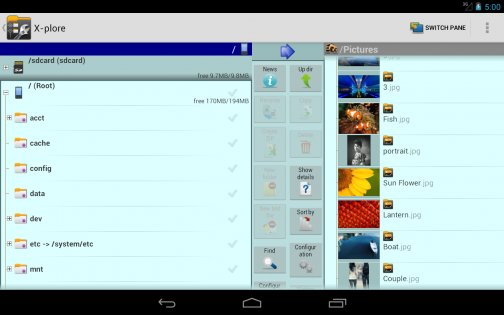 X-plore File Manager 3.97.06. Скриншот 12