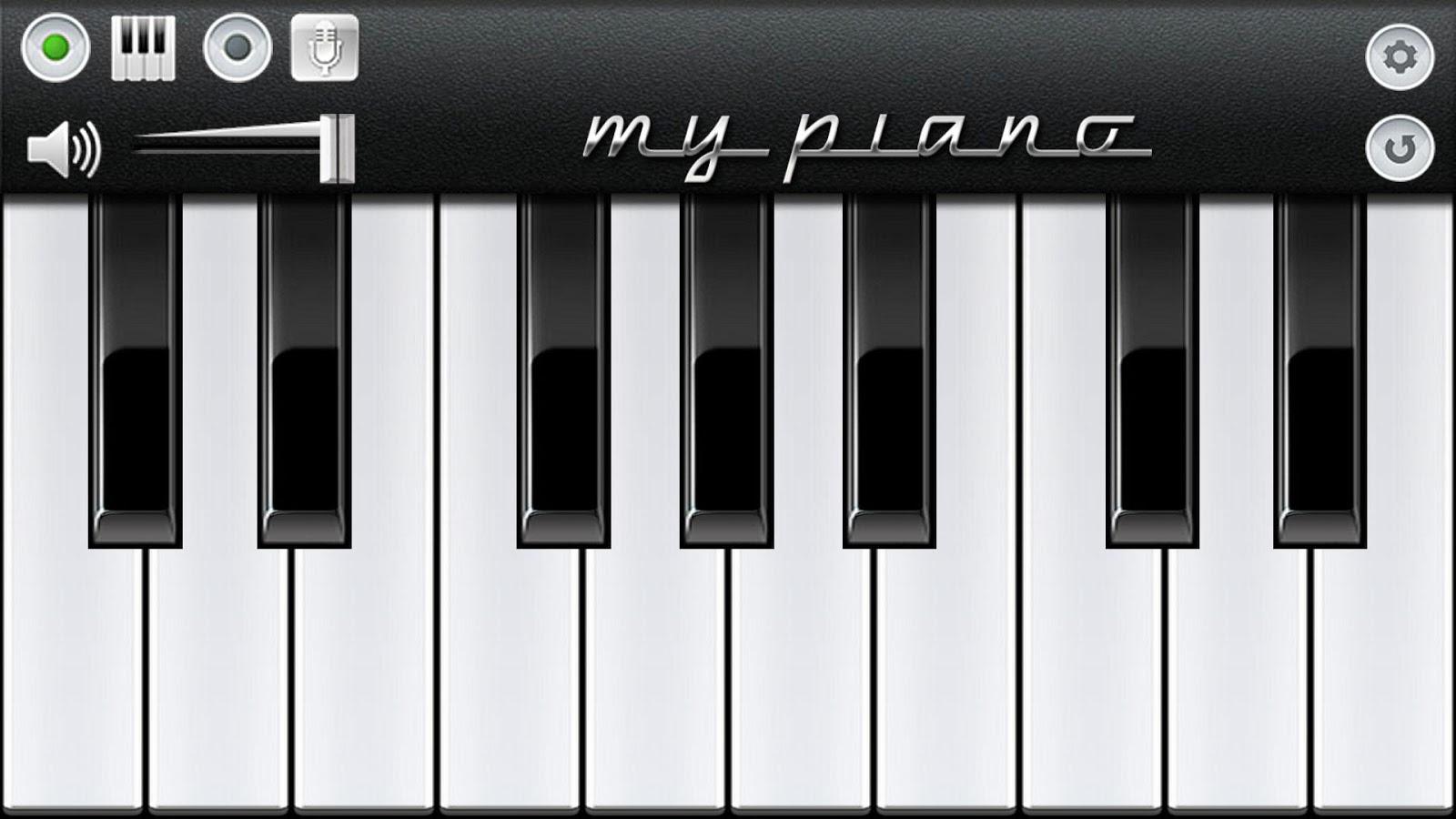 Пианино симулятор скачать
