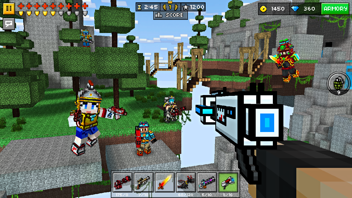 Download pixel gun 3d for windows and pc! Play pixel gun 3d on.