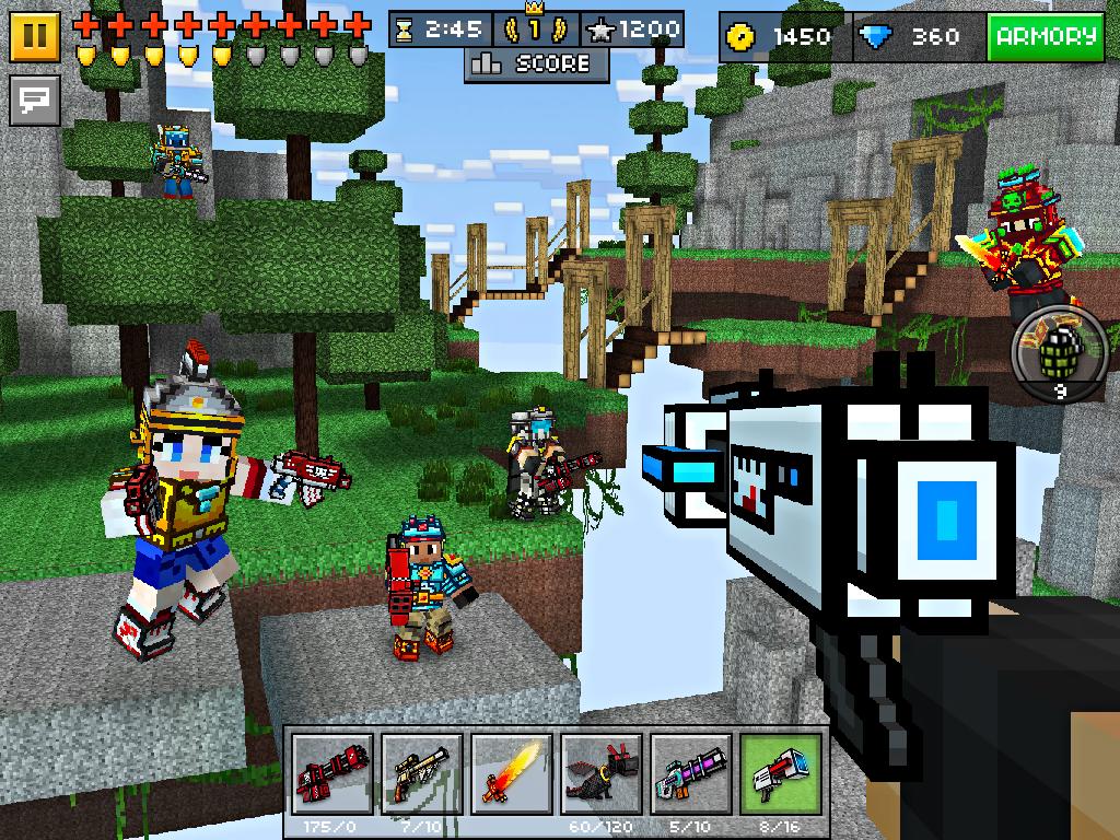Взломанный!!! Pixel gun 3d pro(cсылка в описании)много денег! Youtube.