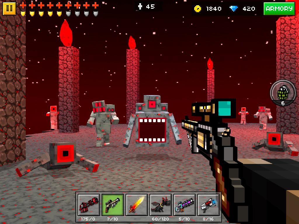 скачать на андроид pixel gun 3d
