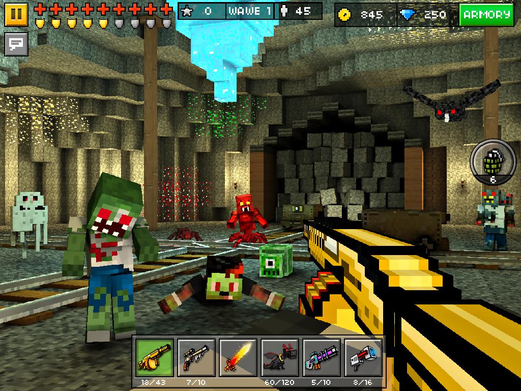 скачать бесплатно игру пиксель ган 3д