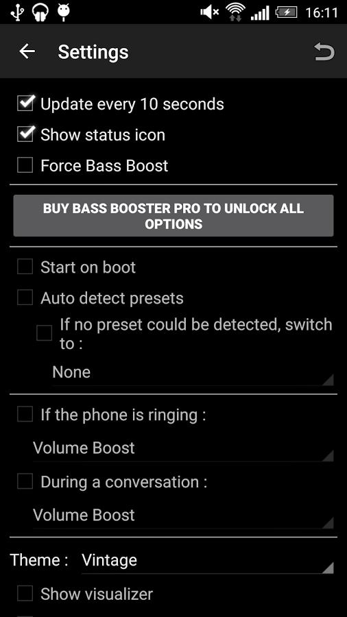 Программу басс на андроид