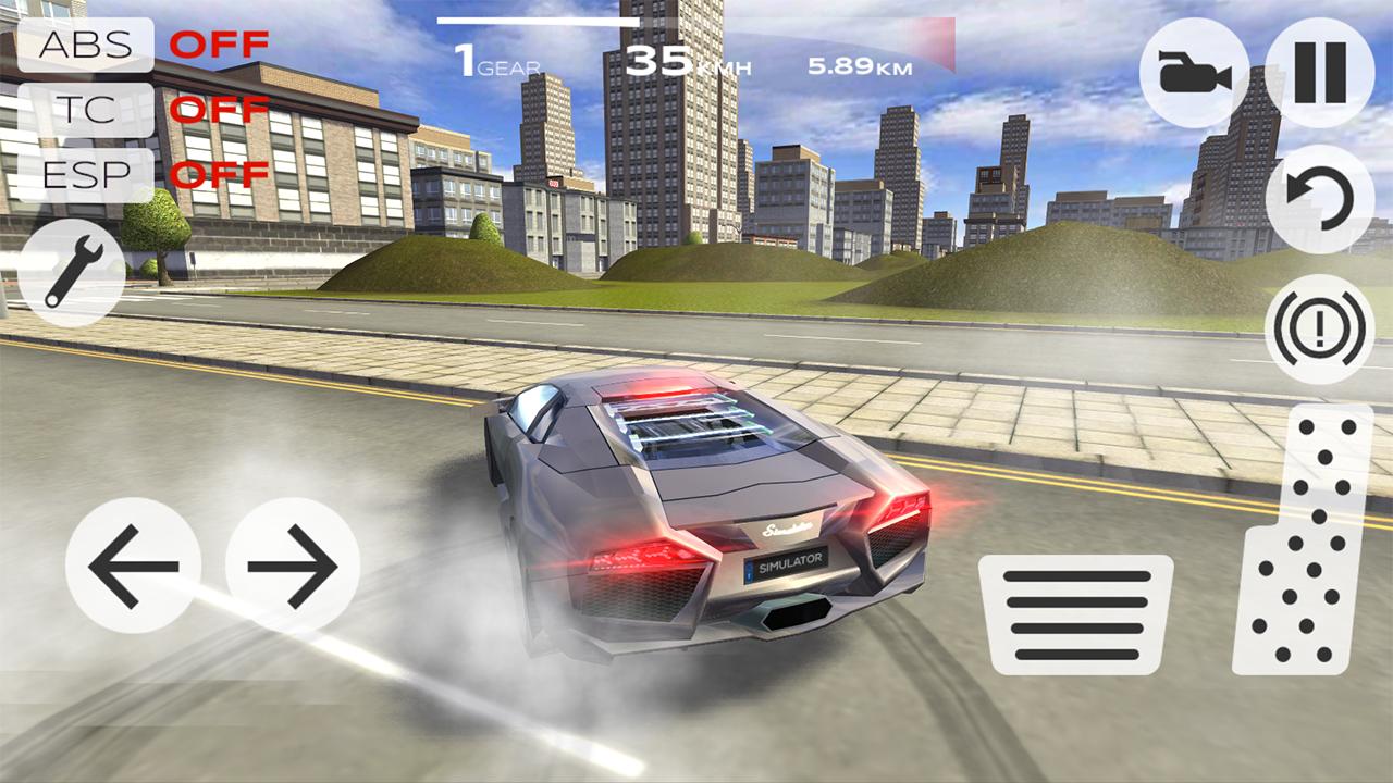 Скачать взломанный extreme car driving simulator