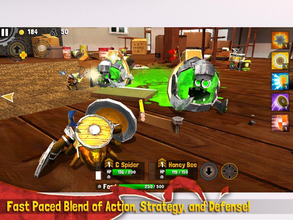 скачать игру Bug Heroes 2 на андроид - фото 4