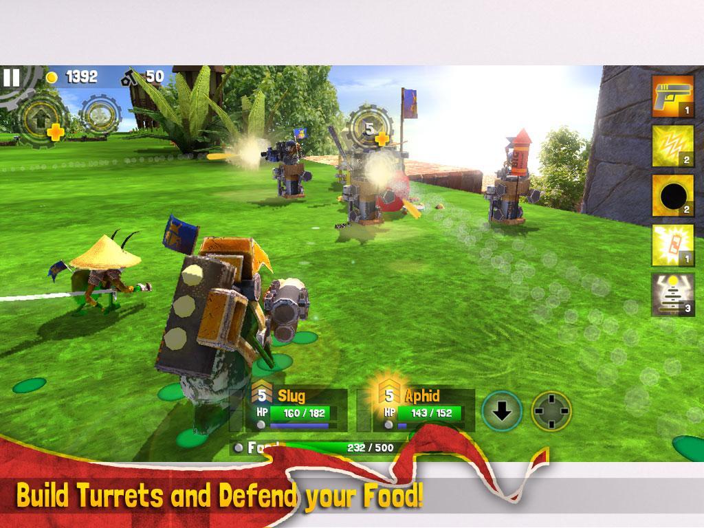скачать игру Bug Heroes 2 на андроид - фото 7