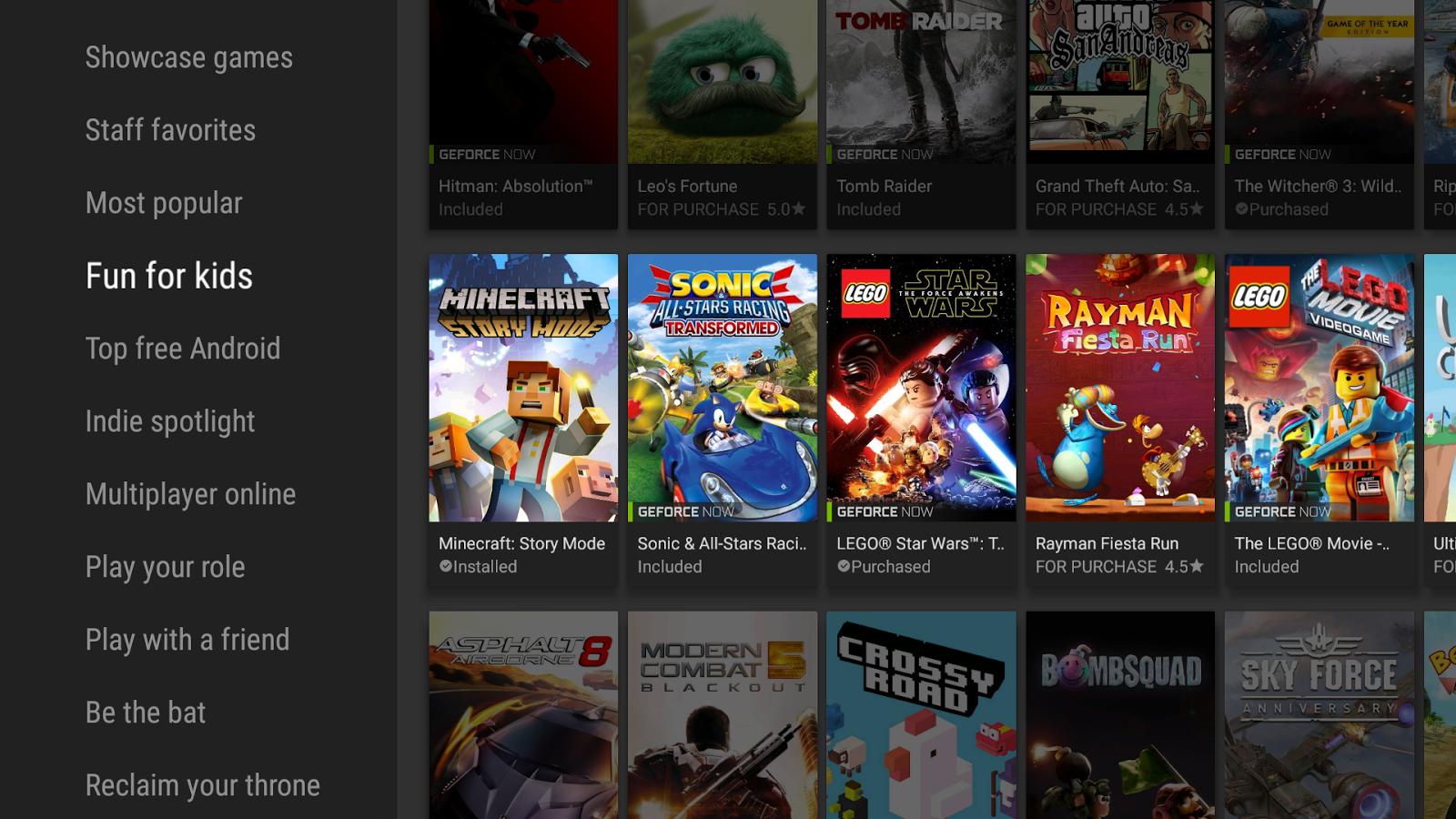 Приложения в Google Play – NVIDIA Games