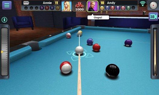 3D Pool Ball 1.4.6.1. Скриншот 2