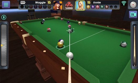 3D Pool Ball 1.4.6.1. Скриншот 3
