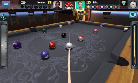 3D Pool Ball 1.4.6.1. Скриншот 5
