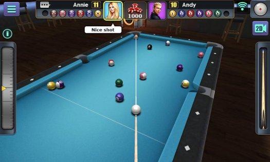 3D Pool Ball 1.4.6.1. Скриншот 6