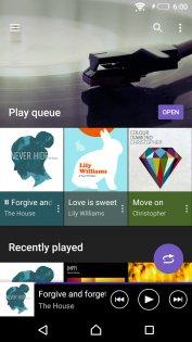 SONY Музыка 9.3.11.A.0.2. Скриншот 1