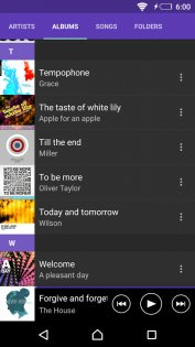 SONY Музыка 9.3.11.A.0.3. Скриншот 3