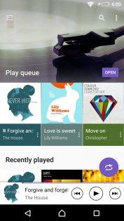 SONY Музыка 9.3.13.A.1.0. Скриншот 4