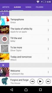 SONY Музыка 9.3.13.A.1.0. Скриншот 6