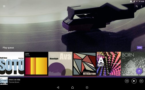 SONY Музыка 9.3.11.A.0.2. Скриншот 8