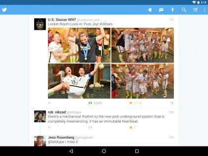Твиттер 7.49.0. Скриншот 9