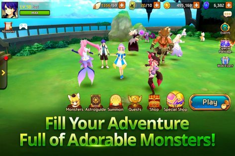 Monster Super League 1.0.18041201. Скриншот 5