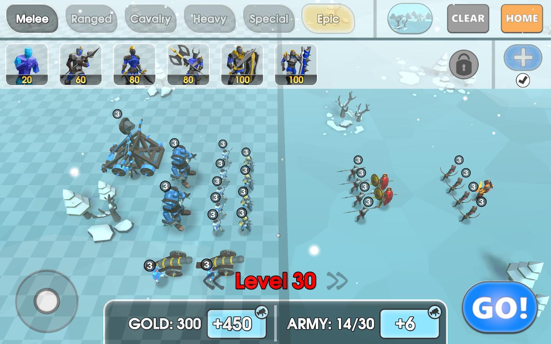 Конечный симулятор битвы игра v. 1. 2 скачать apk для android.