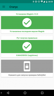 Magisk Manager 5.8.1. Скриншот 1