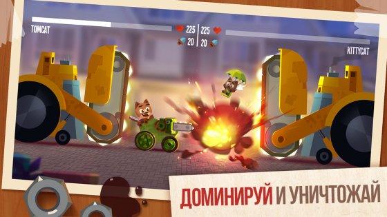 как скачать игру Cats Crash Arena Turbo Stars через торрент - фото 2