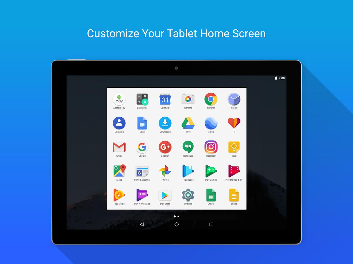 Скачать бесплатно лаунчер в стиле windows для андроид планшета.