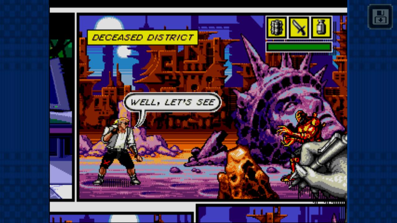 [Análise Retro Game] - Comix Zone - Genesis Comix-zone-1.2.1-3