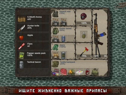 Mini DAYZ — Survival Game 0.0.1. Скриншот 01