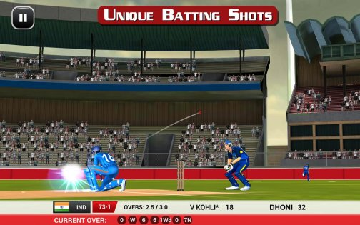 MS Dhoni: Untold Story— Official Cricket Game 12.1. Скриншот 7
