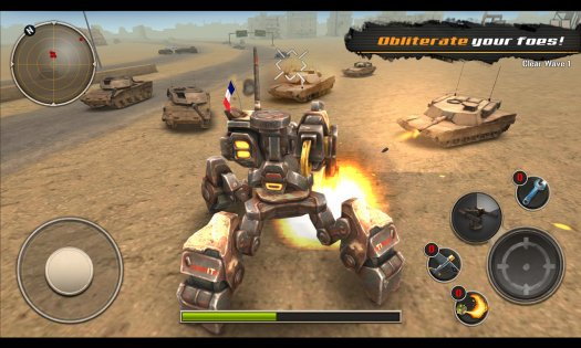 Mech Legion: Age of Robots 1.99. Скриншот 1