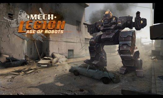 Mech Legion: Age of Robots 1.99. Скриншот 2