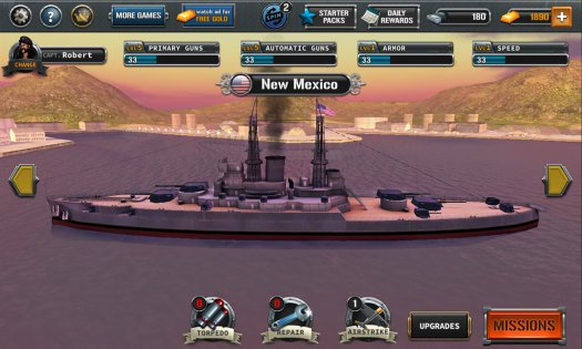 Ships of Battle: The Pacific War 1.43. Скриншот 3