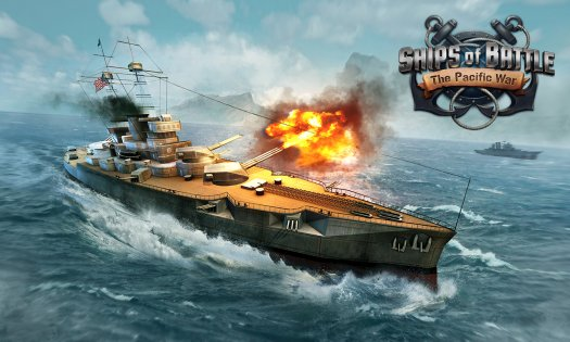 Ships of Battle: The Pacific 1.36. Скриншот 7