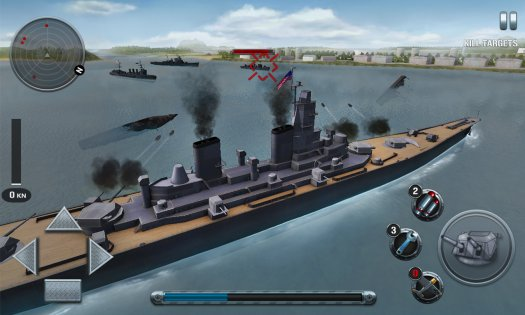 Ships of Battle: The Pacific War 1.49. Скриншот 14