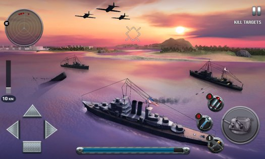 Ships of Battle: The Pacific 1.36. Скриншот 16