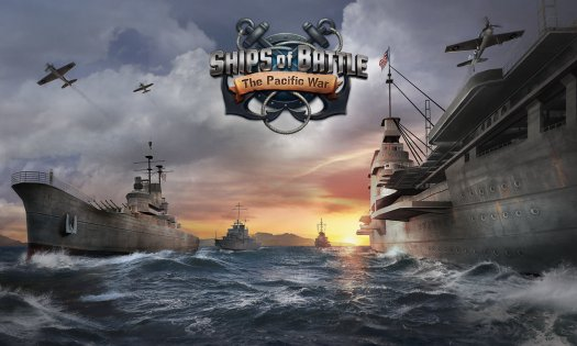 Ships of Battle: The Pacific War 1.49. Скриншот 17