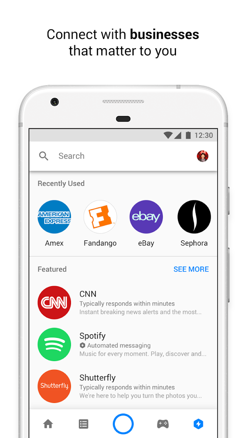 telecharger messenger android 2.3.4