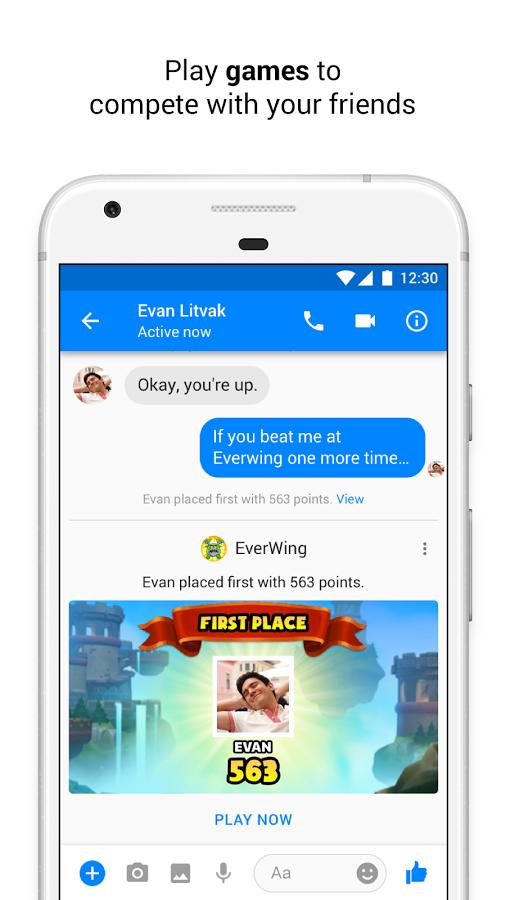 Скачать facebook messenger lite 34. 0. 0. 13. 191 для android.