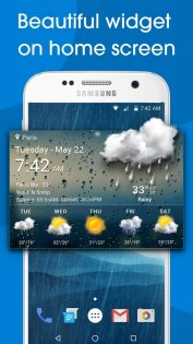 Real-time weather forecasts 12.7.1.3710. Скриншот 1