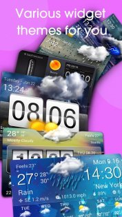 Real-time weather forecasts 12.7.1.3710. Скриншот 2