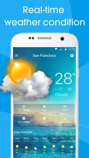 Real-time weather forecasts 10.0.4.2041. Скриншот 3