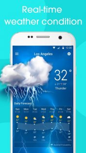 Real-time weather forecasts 12.7.1.3710. Скриншот 4