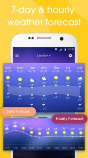 Real-time weather forecasts 12.7.1.3710. Скриншот 5