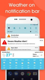 Real-time weather forecasts 12.7.1.3710. Скриншот 6