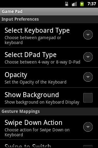 Скачать GamePad 1 7 для Android