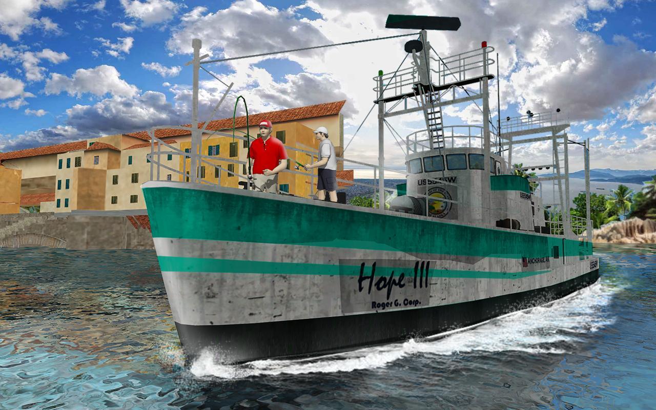 Скачать симулятор рыбалки на корабле