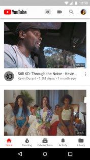 YouTube 13.22.54. Скриншот 2